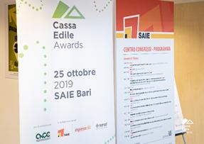 Cassa Edile Awards. Premiata l'Edilizia
