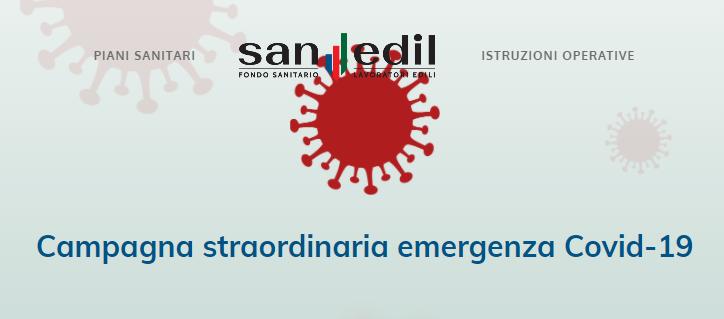 Fondo Sanedil contro emergenza COVID