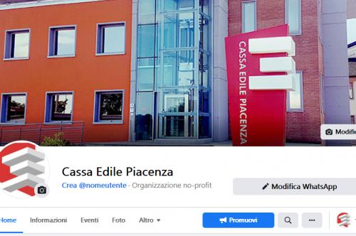 Cassa Edile Piacenza è su Facebook!
