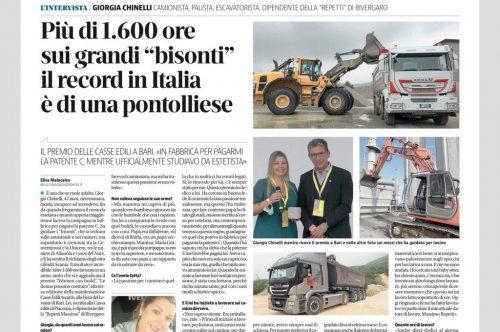 Una Piacentina vince ai Cassa Edile Awards 2021